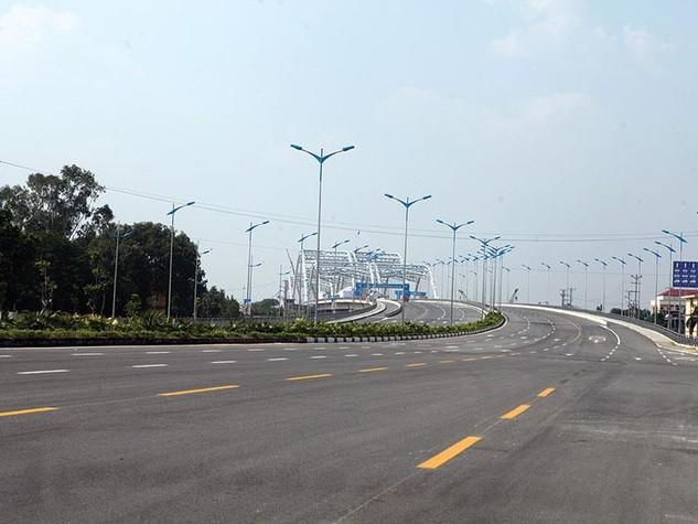 Dự án đường 5 kéo dài có tầm quan trọng đặc biệt trong mạng lưới giao thông của TP. Hà Nội. Ảnh: Đức Thanh