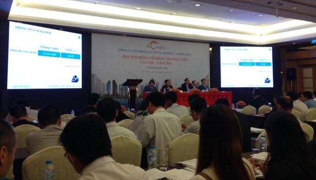 Đại hội cổ đông CTD: Cổ đông ủng hộ chương trình ESOP