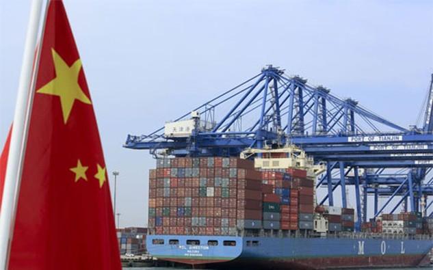 Thặng dư thương mại của Trung Quốc trong tháng 3 đạt 194,6 tỷ Nhân dân tệ, tương đương khoảng 30 tỷ USD - Ảnh: Bloomberg.