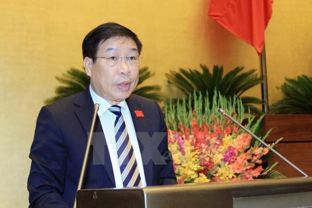 Phó Tổng Thư ký Quốc hội Lê Minh Thông. (Ảnh: An Đăng/TTXVN)