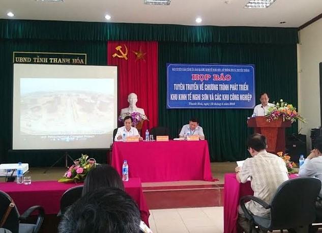 Thanh Hóa: Áp dụng cơ chế ký quỹ khi đầu tư vào KKT Nghi Sơn