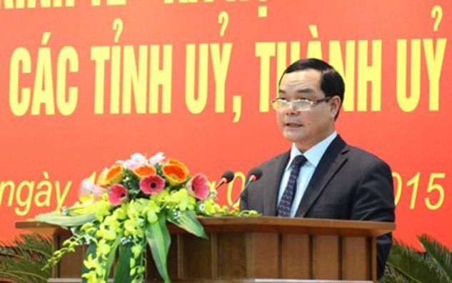 Ông Nguyễn Đình Khang, Ủy viên Trung ương Đảng, tân Bí thư Tỉnh uỷ Hà Nam