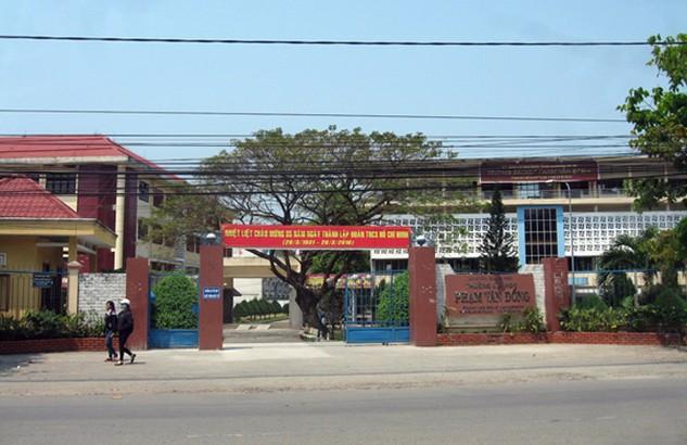 Trường Đại học Phạm Văn Đồng. Ảnh: Ngọc Phó