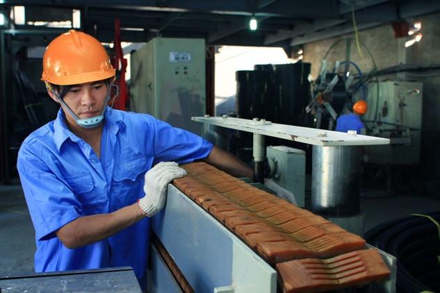 Doanh nghiệp tư nhân ở Việt Nam khó cạnh tranh với doanh nghiệp nhà nước và doanh nghiệp FDI. Ảnh: Lê Tiên