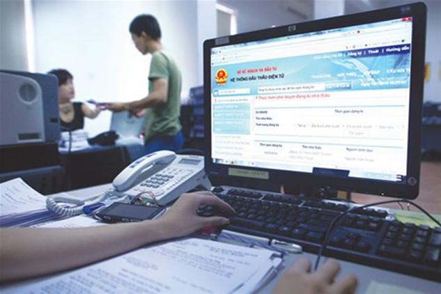 Bộ NN&PTNT đã yêu cầu các đơn vụ trực thuộc tăng cường đẩy mạnh đấu thầu qua mạng. Ảnh minh họa