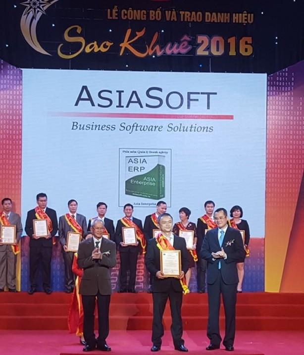 Lần thứ 5 liên tiếp, AsiaSoft đoạt giải thưởng Sao Khuê