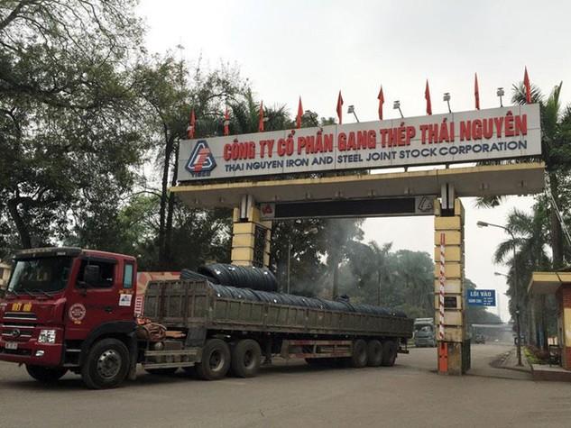 Nhà máy Gang thép Thái Nguyên