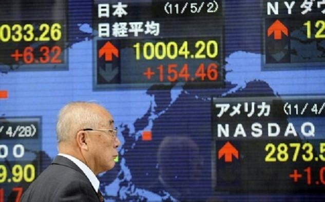 Cổ phiếu của một loạt các công ty xuất khẩu bị bán mạnh trên thị trường chứng khoán Nhật trong ngày hôm nay - Ảnh: JapanTimes.