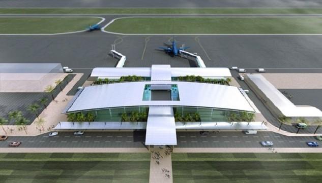 Phối cảnh dự án Sân bay Lào Cai