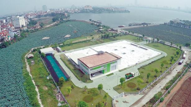 Dự án Xử lý nước thải Hồ Tây có công suất 33.000 m3/ngày