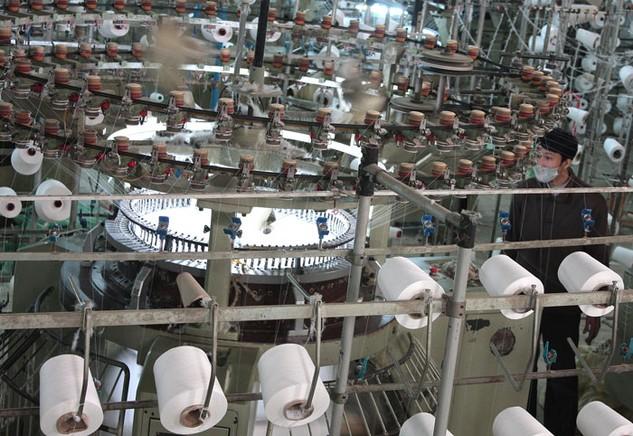 Nhà đầu tư Đài Loan dành nhiều sự quan tâm đến các dự án trong lĩnh vực dệt may và sản xuất giấy. Ảnh: Nguyễn Nam