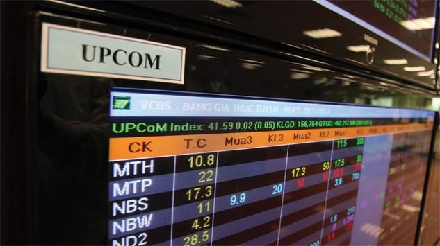 Số doanh nghiệp giao dịch trên thị trường UPCoM có thể sẽ vượt sàn niêm yết trong 1 -2 năm tới