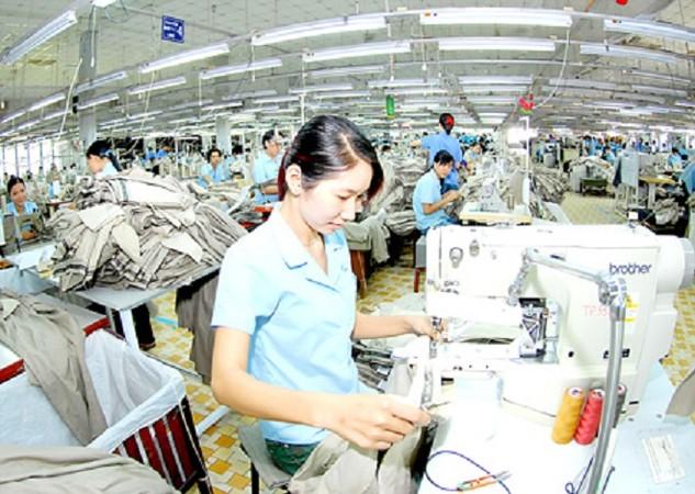 Dệt may là một trong những ngành thâm dụng lao động
