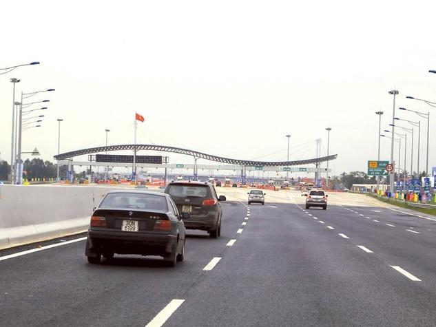 Dự án Đường cao tốc Hà Nội - Hải Phòng có vốn đầu tư 2 tỷ USD. Ảnh: Bảo Như