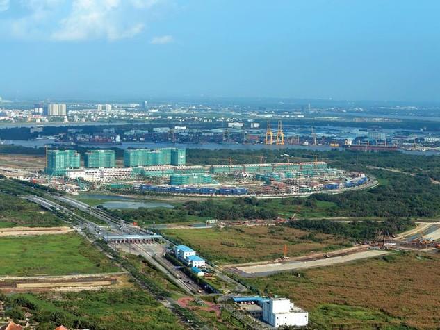 Dự kiến, sẽ có nhiều doanh nghiệp nước ngoài tầm cỡ đến đầu tư vào Khu đô thị mới Thủ Thiêm. Ảnh: Đức Thanh