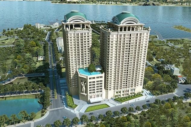 Chính thức ký hợp đồng mua bán căn hộ dự án  D'. Le Roi Soleil
