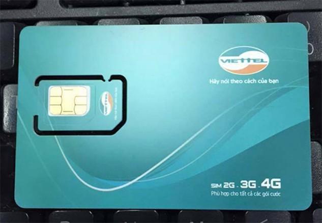 Từ 12/5: Viettel bất ngờ cung cấp SIM 4G trên diện rộng