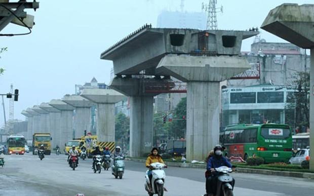 Dự án đường sắt trên cao Cát Linh - Hà Đông.