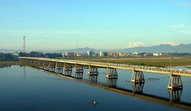 Sông Trà Khúc, Quảng Ngãi.