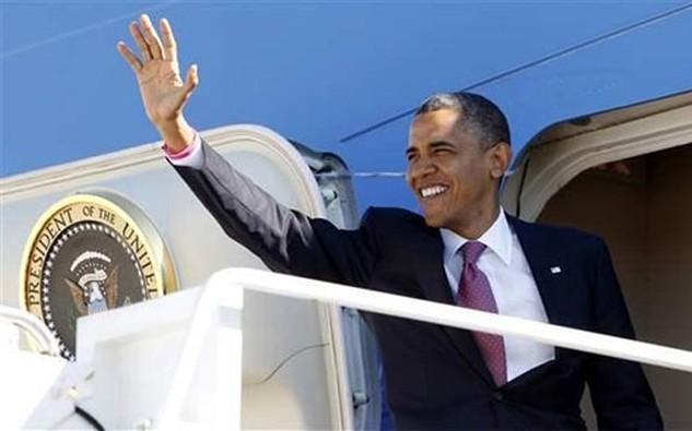 Tổng thống Mỹ Barack Obama sẽ thăm Việt Nam và Nhật Bản từ 21-28/5.
