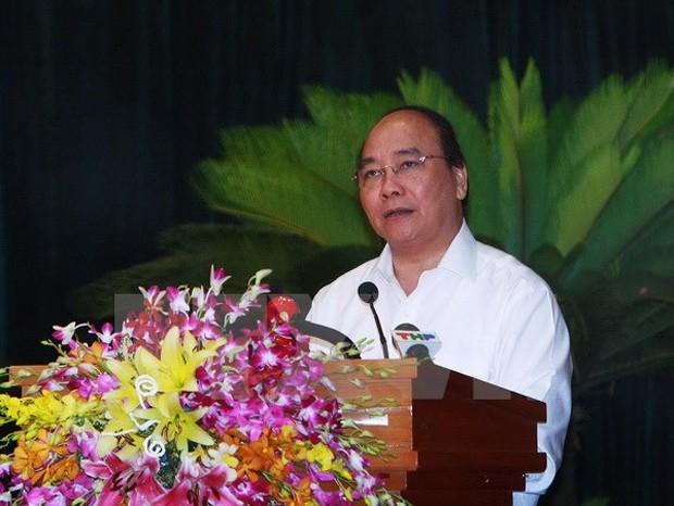 Thủ tướng Nguyễn Xuân Phúc. (Ảnh: Lâm Khánh/TTXVN)