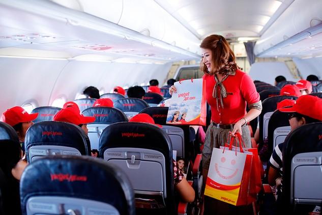 Hàng trăm nghìn vé 0 đồng bay quốc tế cùng Vietjet