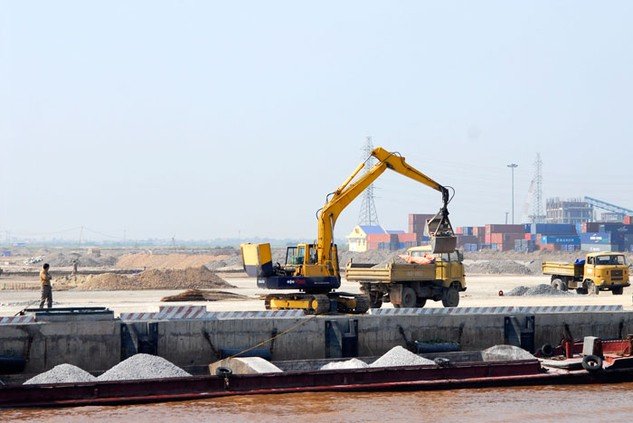Tiến độ giải ngân vốn ODA dự án Đường sắt đô thị Hà Nội – Tuyến số 1 rất chậm. Ảnh: Trần Sơn