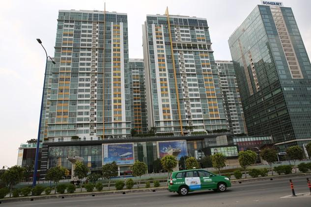 Tốc độ đô thị hóa gia tăng đang kích thích nhu cầu phát triển bất động sản dân cư. Ảnh: Đinh Tuấn