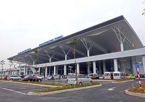 Nhà ga hành khách T2 - Cảng Hàng không Quốc tế Nội Bài - D.A được thanh tra. Ảnh: Trần Quý