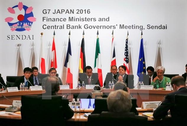 Quảng cảnh hội nghị G7. (Ảnh: EPA/TTXVN)