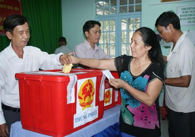 Chậm nhất là 20 ngày sau bầu cử, kết quả bầu cử sẽ chính thức được công bố. Ảnh: Thanh Quang