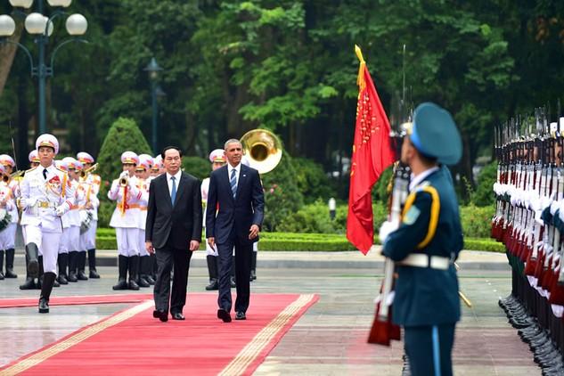 Tổng thống Hoa Kỳ Barack Obama thăm chính thức Việt Nam từ ngày 23 - 25/5. Ảnh: Nhật Bắc