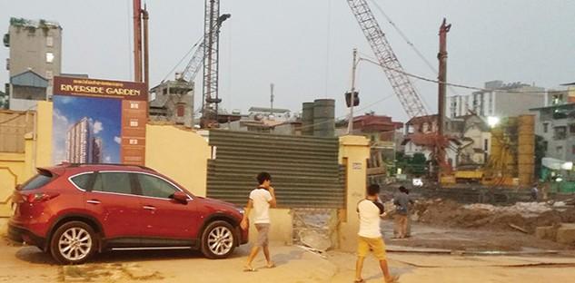 Lô đất gây tranh cãi diện tích 8.900 m2 tại Khương Đình, Thanh Xuân, Hà Nội của Prosimex