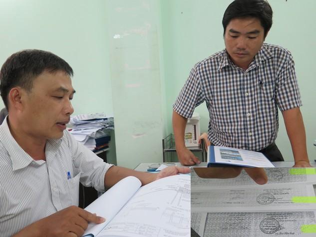 Ông Nguyễn Hoàng Hà, Phó Giám đốc Khu quản lý đường thủy nội địa thuộc Sở GTVT TP.HCM chỉ rõ những yêu cầu về phương pháp luận của các gói thầu mà đơn vị này mời thầu. Ảnh: Văn Huyền