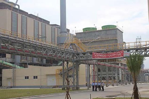 Một góc khu vực sản xuất của Cty Formosa Hà Tĩnh. Ảnh: TRẦN TUẤN