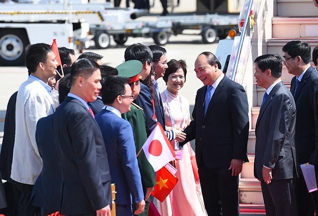 Thủ tướng Nguyễn Xuân Phúc tham dự Hội nghị Thượng đỉnh G7 mở rộng theo lời mời của Thủ tướng Nhật Bản Shinzo Abe. Ảnh: Quang Hiếu