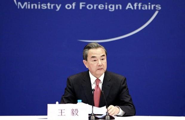 Ngoại trưởng Trung Quốc Vương Nghị. Ảnh: Xinhua