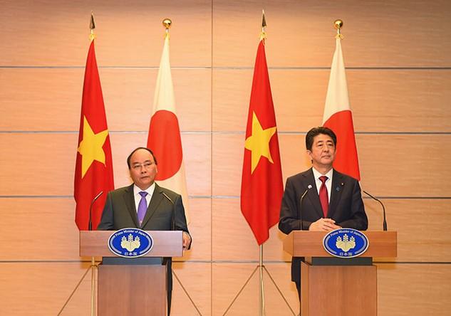 Thủ tướng Việt Nam - Nhật Bản họp báo chung sau hội đàm