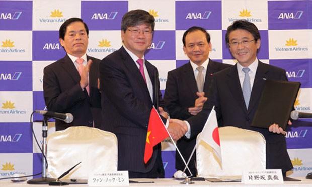 Lãnh đạo Vietnam Airlines và ANA ký hợp đồng hợp tác chiến lược tại Nhật cuối tuần này.