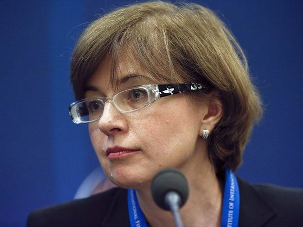 Phó Thống đốc thứ nhất Ngân hàng Trung Ương Nga, bà Ksenia Yudaeva. (Nguồn: Bloomberg)