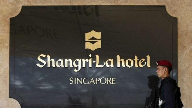 Khách sạn Shangri-La - nơi diễn ra Đối thoại Shangri-La. (Nguồn: Scmp.com)