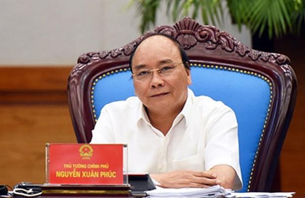Thủ tướng Nguyễn Xuân Phúc nêu hàng loạt giải pháp khơi thông tiềm năng tăng trưởng, kiểm soát lạm phát khi kết luận Phiên họp. Ảnh: VGP/Quang Hiếu
