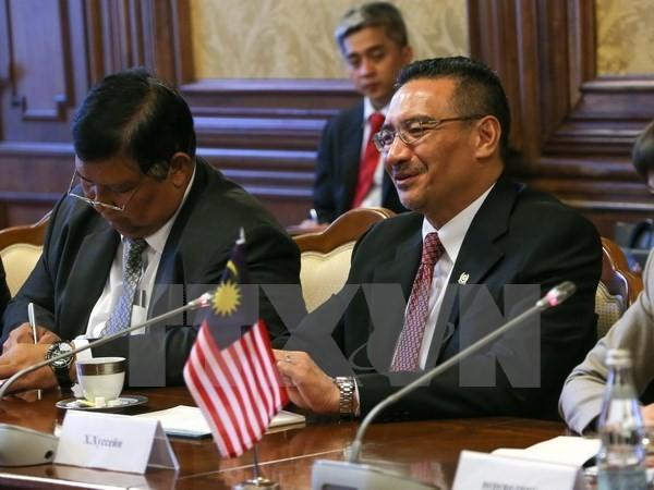 Bộ trưởng Quốc phòng Malaysia Hishammuddin Hussein. (Nguồn: AFP/TTXVN)