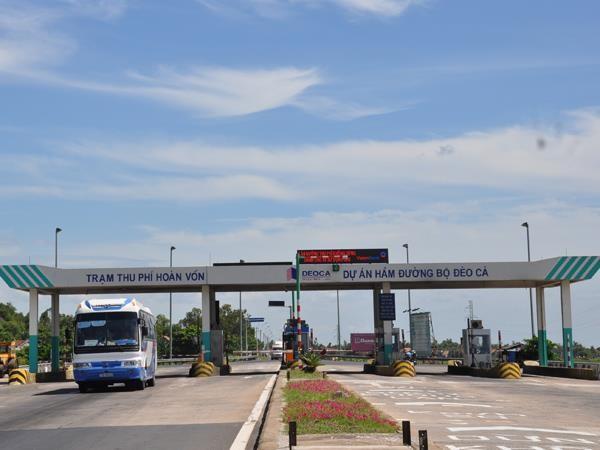 Trạm thu phí Bàn Thạch hoàn vốn cho Dự án xây dựng hầm đường bộ qua Đèo Cả