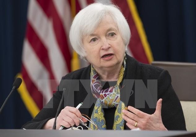Chủ tịch Cục Dự trữ Liên bang Mỹ (Fed). (Nguồn: AFP/TTXVN)