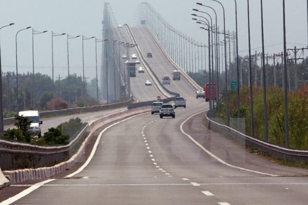 Đường cao tốc Thành phố Hồ Chí Minh-Long Thành-Dầu Giây được xây dựng bằng vốn vay ODA của JICA. (Ảnh: Tràng Dương/TTXVN)