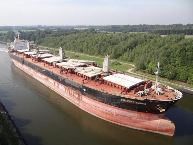 Tàu hàng khô do Vinalines Global đóng năm 1994 được Vinalines giao bán. (Nguồn: shipspotting)