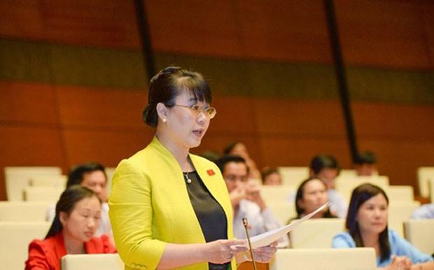 Doanh nhân Nguyễn Thị Nguyệt Hường ba khoá liền trúng cử đại biểu Quốc hội.