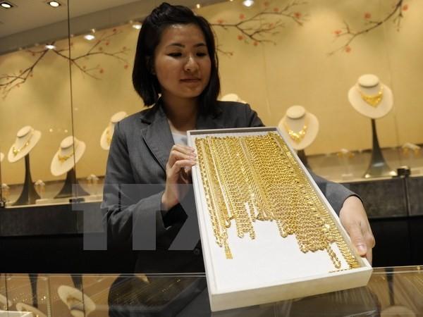Một cửa hàng kim hoàn ở Singapore. (Nguồn: AFP/TTXVN)