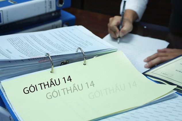 Gói thầu 14 do Ban QLDA huyện Thống Nhất, tỉnh Đồng Nai làm chủ đầu tư đã chậm khởi công 2 tháng vì chưa có kết quả lựa chọn nhà thầu. Ảnh: Tiên Giang